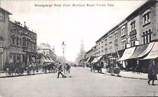 Forest Gate. Woodgrange Road from Romford Road.