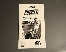 FIFA International Soccer - Instruction Manual Only, No Game - for Panasonic 3DO