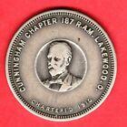 (Pgasteelers1) Masonic Chapter Penny Lakewood, Ohio  Cunningham Chapter No 187