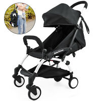 Portable baby stroller light suspension travel system folding mini pushchair