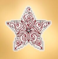 Mill Hill - Winter Holiday - Filigree Star - Cross Stitch Kit - MH18-1932
