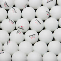3-Star 40mm 100pcs/30pcs Weweya Ping Pong Balls Table Tennis Balls Plastic Balls