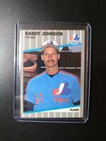 1989 Fleer #381 Randy Johnson  Rookie RC