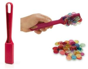 Set of 2 Magnetic Wands and 100 Chips Science & Math's Teacher Resource