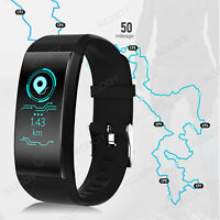 NEW Sports Tracker Bluetooth Smart Bracelet Sport Watch Step Counter Waterproof