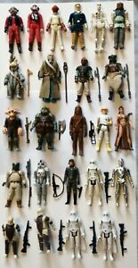 "Vintage Star Wars Job Lot 3.75"" Loose Figs x 24 Plus Some Original Weapons.."