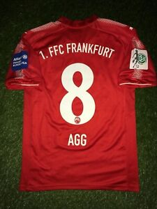 Lily Agg Frauen Matchworn Trikot 1. FFC Frankfurt Eintracht Damen Bundesliga