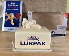 "Lurpack Butter Dish, ""Douglas"",Boxed."