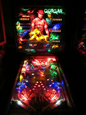 Gorgar Arcade Pinball Machine by Williams 1979 (Custom Led)