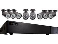 Q-See 4MP Resolution & 4K Output Surveillance Security Camera System: 8Ch. Analo