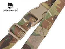 Emerson Quick Adjust Padded 2 Point Sling Airsoft Military Gun Belt Multicam
