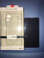 Samsung Galaxy S6 EDGE PLUS Flip Wallet Case Cover Black Saphire & Casemate Case