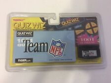 Vintage Tiger Electronics Quiz Wiz Cartridge Team NFL #9 New In Package