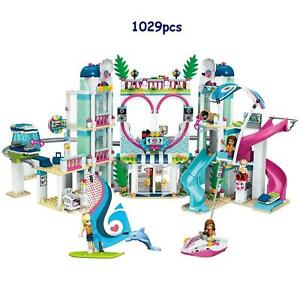 Friends Heartlake City Resort Hotel 1029 Pcs Legonly Building Blocks Bricks Toy