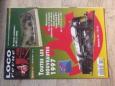 $$x Loco-Revue N°601 ecartement WZ  Y 5113 1/87  pont-rail metallique  Lille