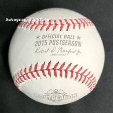 Rawlings 2015 World Series Official Postseason Game Baseball KC Royals NY Mets