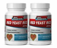 lowering products cholesterol - ORGANIC CERTIFIED YEAST RICE - heart support 2 B