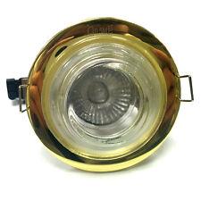 Ducha Baño Luz , latón empotrada, Transparente Cristal con 50w GU10 bombilla
