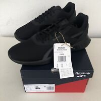 Brand new Reebok Lite 2.0 trainers Size UK 8 black Genuine Shoes FW8025