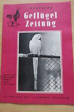 Geflügelzeitung Heft 19/1960 Milan Falke Muskat Fink  Kanarienvögel Seidenhuhn