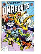 Lot Of 9 DNAgents Eclipse Comic Books # 2 3 4 5 6 7 8 9 10 RJ8