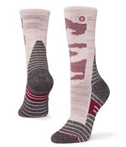 STANCE Featherstone Outdoor Wool Hiking Socks Women's sz Medium (8-10.5) Sand