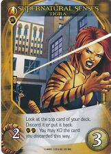 TIGRA Upper Deck Marvel Legendary SUPERNATURAL SENSES