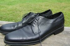 Vintage Salvatore Ferragamo. Men's Shoes. Black. Size 12 D. Made in Italy. Used
