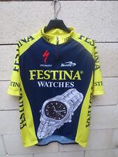 Maillot cycliste FESTINA LOTUS Specialized Biemme 2000 trikot jersey shirt XL 5