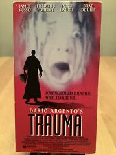 Trauma/Dario Argento/James Russo, Asia Argento/Psychotic Headhunter Horror! Vhs!