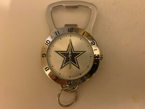 GAME TIME Dallas Cowboys Bottle Opener, Keychain & Watch New Condition