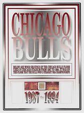 CHICAGO BULLS wood FLOOR SHAVINGS 1987-1994 3 Championships NBA basketball piece