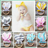 Newest Wooden Natural Baby Teething Ring Chewie Teether Bunny Sensory Gift Toy