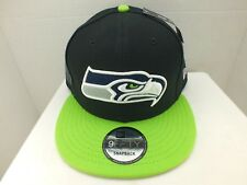 SEATTLE Seahawks Hat Cap Retro SNAPBACK NEW ERA 9FIFTY MENS NFL MADE IN THE USA