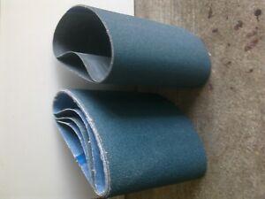2 x 150mm x 1220mm Zirconium Abrasive Belt Various Grit Options- P60