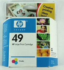 Genuine HP 49 Tri Color Ink Cartridges 51649A OfficeJet DeskJet DeskWriter