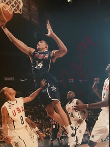 Javale McGee Signed 8x10 Team USA Photo Golden State Warriors Autographed Lakers