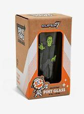 Frankenstein Super 7 Drive-Thru Drinkware Pint Glass 16oz Collectible New in Box