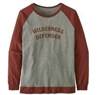 Patagonia Women's Wilderness Defender Long-Sleeved Responsibili-Tee, Size XL