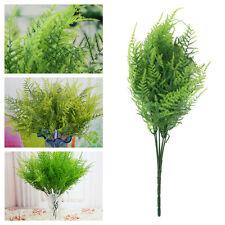 Artificial plastic house table decor ornamental grass plant Dekopflanze U87