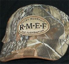 ROCKY MOUNTAIN ELK FOUNDATION CAMOUFLAGE   SPORTSMAN CAP HAT