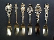 Lotto 6 forchette Anton Michelsen 6 forks lot sterling silver vintage fork