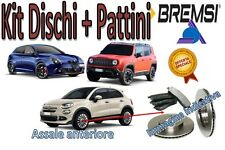 KIT DISCHI + PATTINI FRENO ANTERIORI BREMSI - FIAT 500X GIULIETTA JEEP RENEGADE