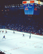 Old Montreal Forum Score Clock - 8x10 Color Photo