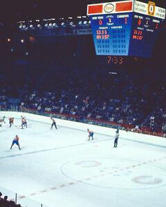 Old Montreal Forum Score Clock - 8x10 Color Photo