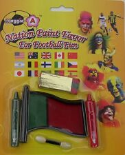 Kit Maquillage Drapeau Portugal Supporter Coupe Du Monde Football