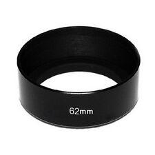 Nuevo estándar 62 mm Metal Parasol Cubierta para 62 mm lente/filtro