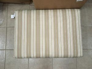 Frontgate Replace Wicker Deep Seating Sofa Bench Oversized Outdoor Cushion 25x34