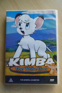 Kimba the White Lion  Vol. 1 DVD Episodes 1-4 All Regions Rare