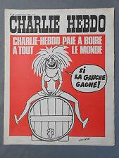 ►CHARLIE HEBDO N°121  - MARS 1973 - WOLINSKI